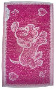 Zvětšit fotografii - Dětský ručník Pejsek ostružinový