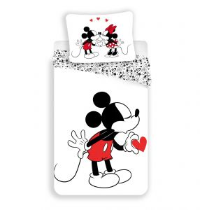 Zvětšit fotografii - Povlečení Mickey hearts 2016