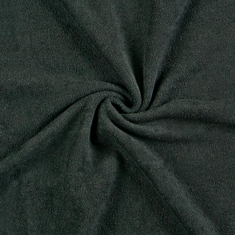 Froté prostěradlo černé rozměr 70x140 cm.