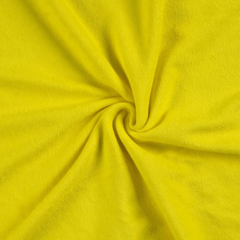Froté prostěradlo citrón rozměr 70x140 cm.