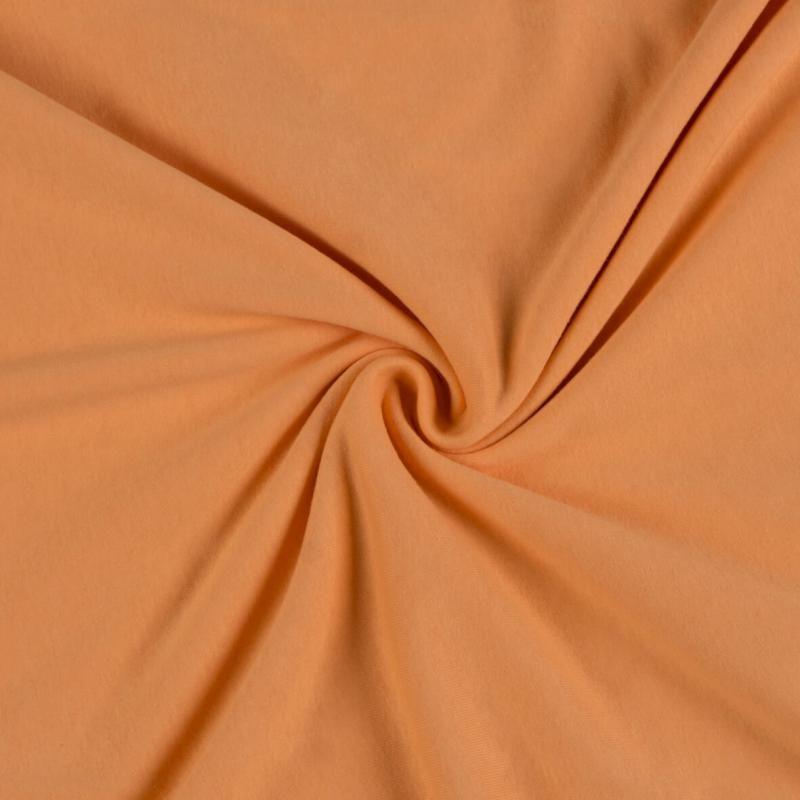 Jersey prostěradlo lososové rozměr 70x140 cm.