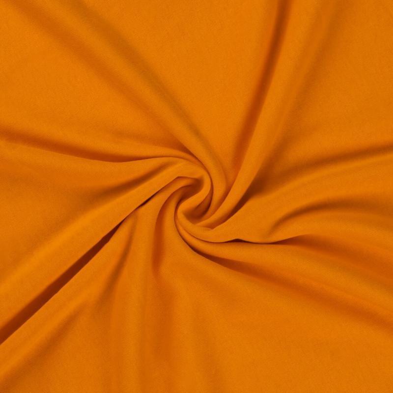 Jersey prostěradlo oranžové rozměr 70x140 cm.