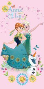 Zvětšit fotografii - Osuška Frozen sweet pink 70x140 cm