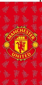 Zvětšit fotografii - Osuška Manchester United 75x150 cm