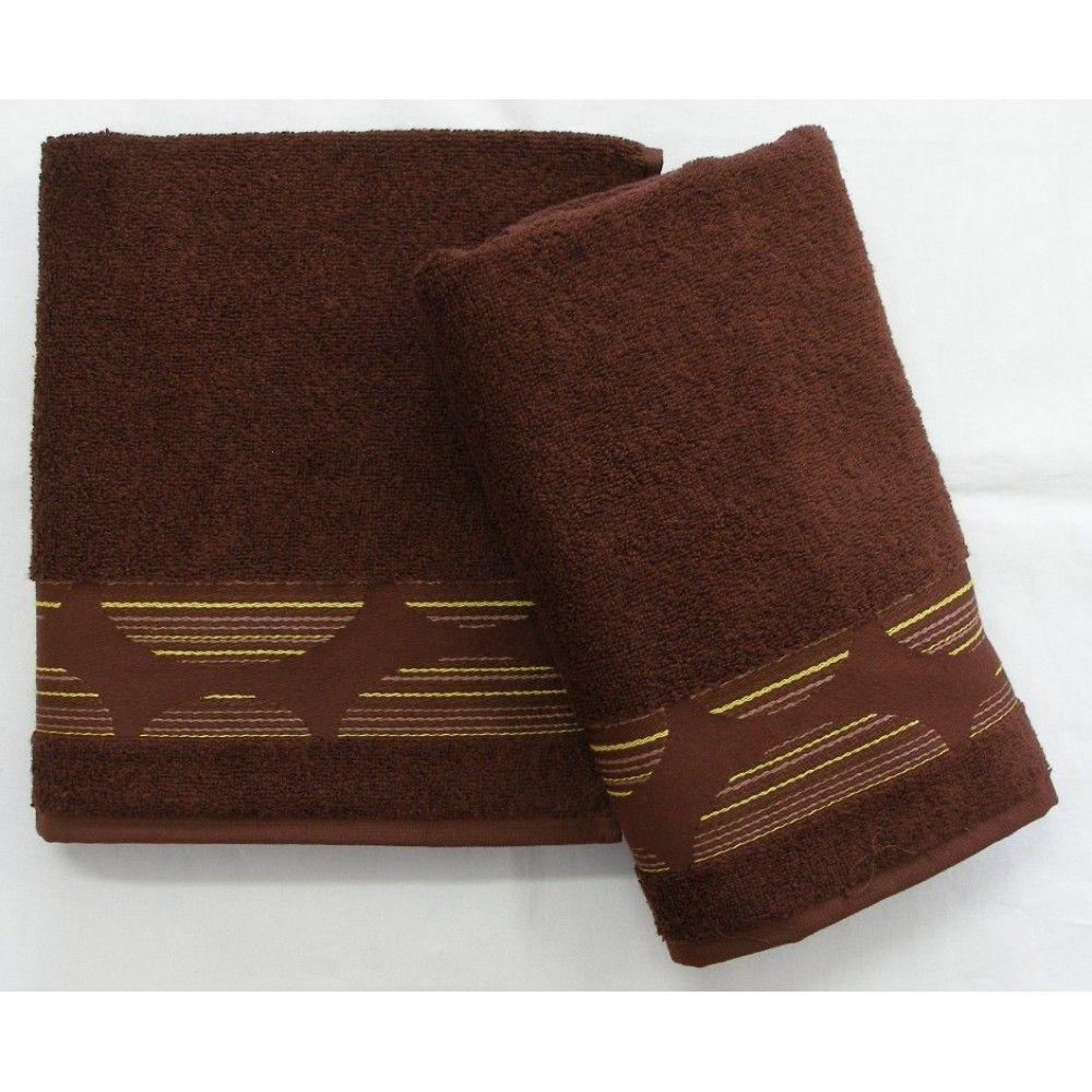 Ručník a osuška Mambo 450g/m2 ručník čokoládový, rozměr 50x100 cm.