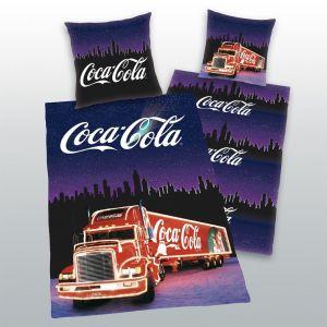 Bavlněné povlečení Coca Cola kamion