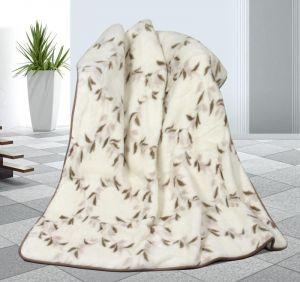 Zvětšit fotografii - Vlněná deka DUO 155 x 200 cm svlačec - australské merino