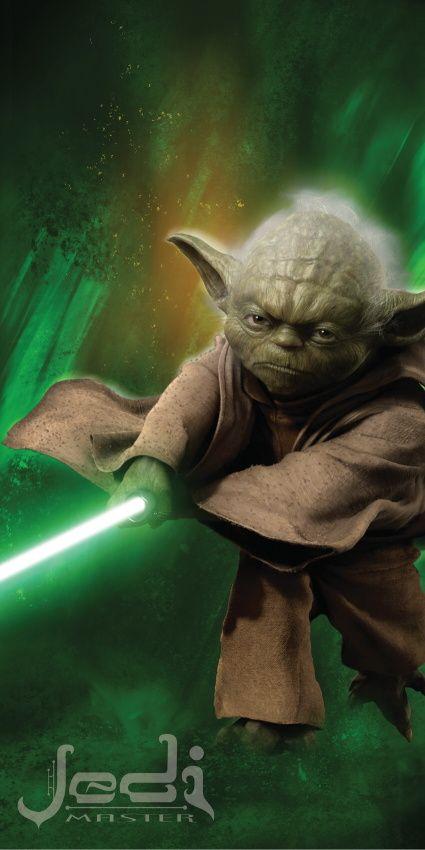 Osuška Star Wars Yoda - 75x150 cm rozměr 75x150 cm.