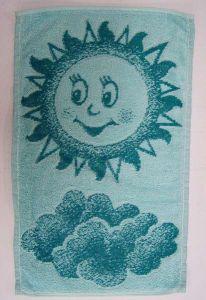 Dětský ručník Sluníčko zelené, Frotex