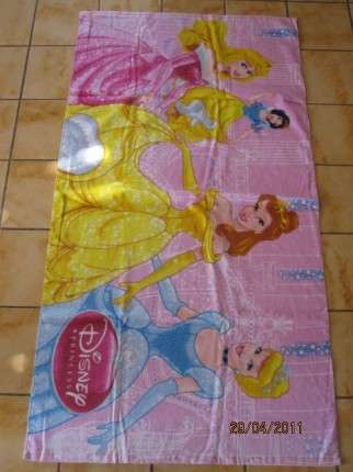 Pro holčičky dětská froté osuška - Princezny