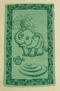Dětský ručník - Sluně zelené