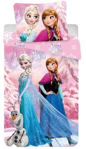 Bavlněné povlečení Disney Frozen pink 2016