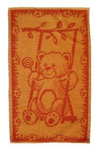 Dětský ručník Medvídek oranžový, Frotex