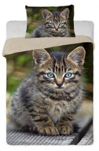 Bavlněné povlečení fototisk Kitten 01