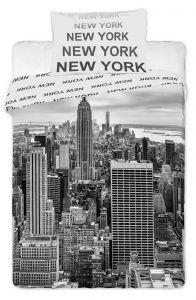 Bavlněné povlečení fototisk New York 2016