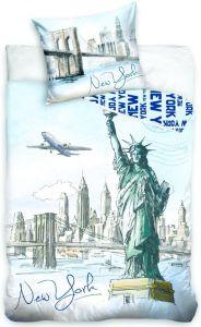 Bavlněné povlečení fototisk New York Statue