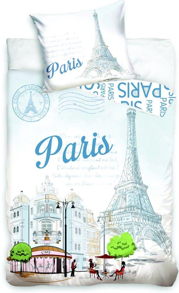 Bavlněné povlečení fototisk Paris Tower