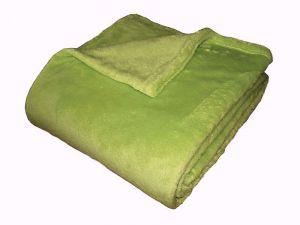 Super soft deka Dadka - světlá oliva