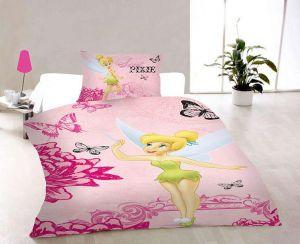 Bavlněné povlečení Pixie pink