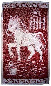 Dětský ručník - Koník vínový
