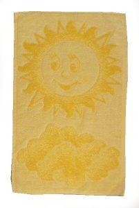 Dětský ručník - Sluníčko žluté
