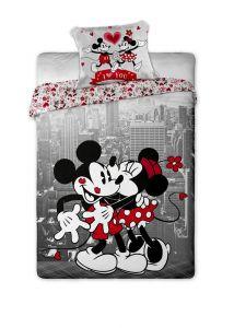 Bavlněné povlečení Mickey and Minnie v NY