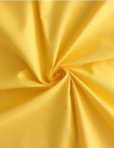 Saténové povlečení žlutá