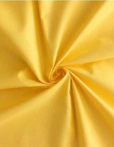 Saténové ložní povlečení barva žlutá