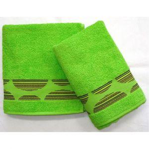 ručník Mambo zelený, rozměr 50x100 cm.