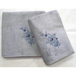 ručník Paloma šedý, rozměr 50x100 cm.