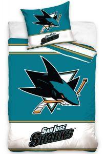 Bavlněné povlečení NHL San Jose Sharks