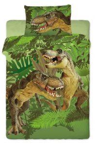 Ještěr na kvalitním dětském bavlněném ložním povlečení Dinosaur 2016, Jerry Fabrics