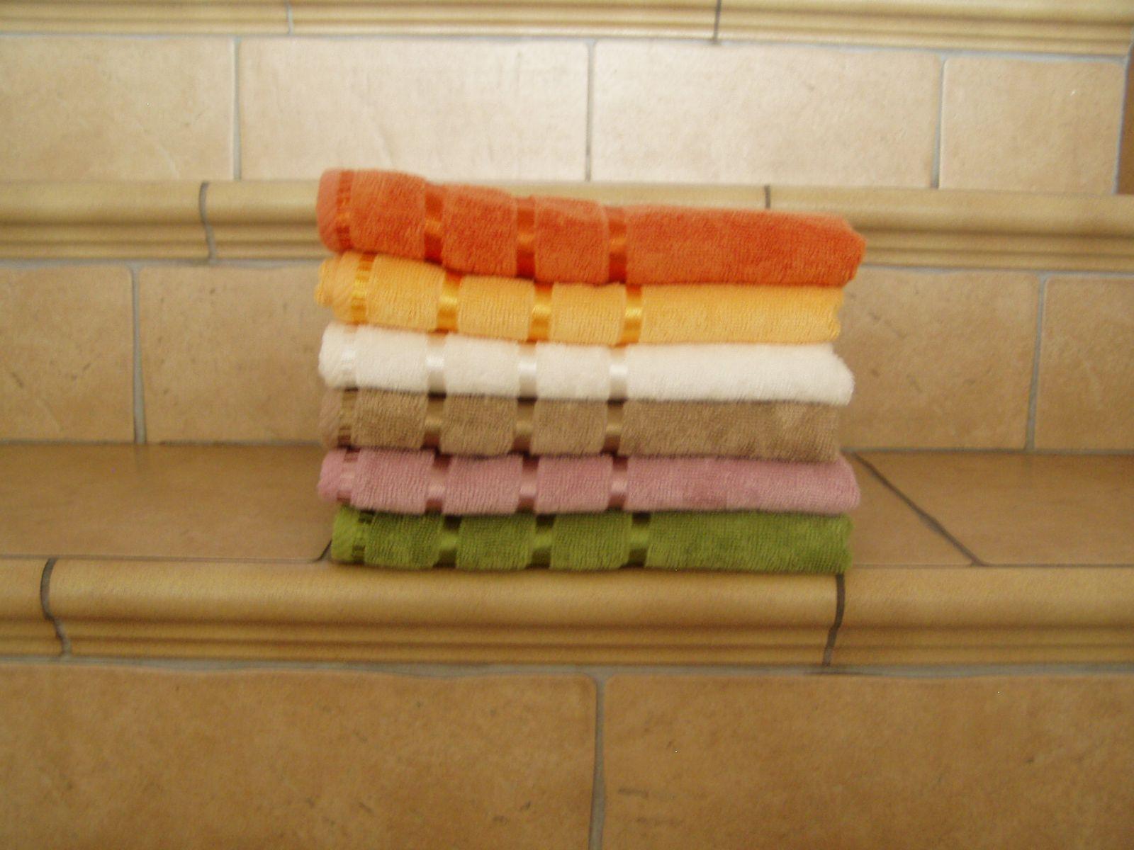 Bambusový ručník a osuška ELA 480 g/m2 ručník starorůžový, rozměr 50x90 cm.