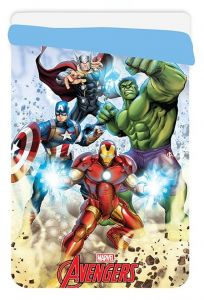 Dětská prošívaná deka Avengers