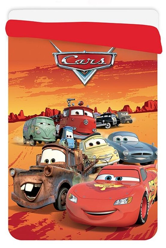 Dětská prošívaná deka Cars