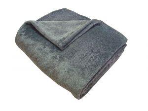 Fine soft deka Dadka černý melír