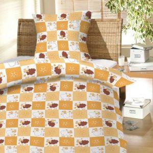 Do dětských postýlek krásné dětské bavlněné ložní povlečení Beránci hnědí, Hybler textil