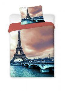 Velmi kvalitní s Eiffelovou věží bavlněné ložní povlečení Paris 2016, Jerry Fabrics