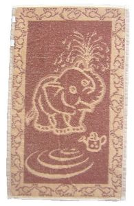 Dětský ručník Slůně hnědé