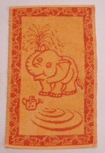Dětský ručník Slůně oranžové
