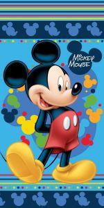 Osuška Mickey blue 2 70x140 cm