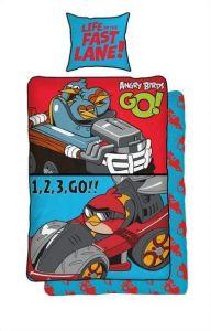 Kvalitní barevné dětské bavlněné ložní povlečení Angry birds GO!, Halantex