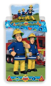 Bavlněné povlečení Požárník Sam 009