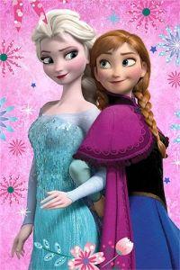 Dětská fleecová deka Frozen flowers