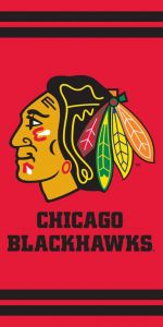 Osuška NHL Chicago Blackhawks
