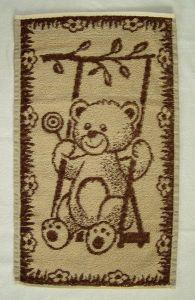 Dětský ručník Medvídek hnědý