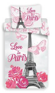 Bavlněné povlečení fototisk Paris flowers