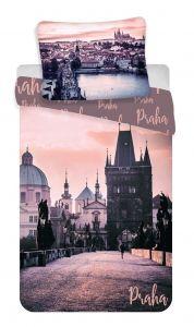"""Bavlněné povlečení fototisk Praha """"Romantique"""""""