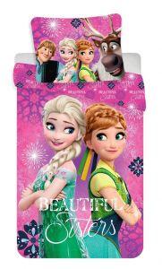 Bavlněné povlečení Frozen beautiful sisters