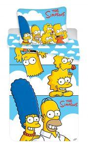 """Bavlněné povlečení Simpsons Family """"Clouds"""""""
